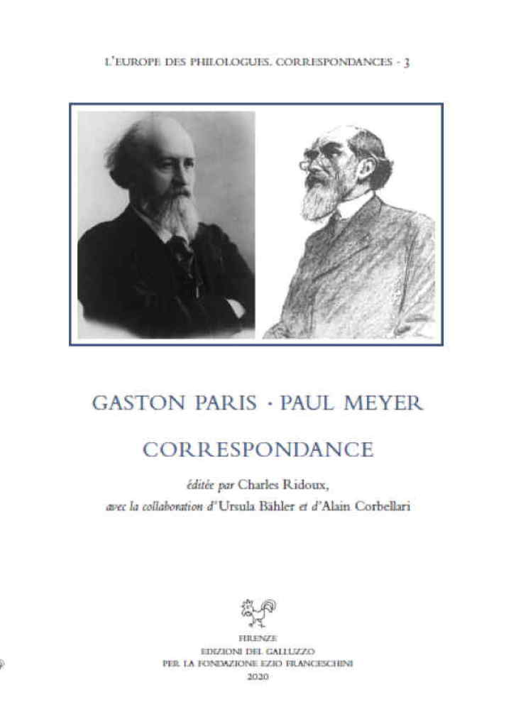 Paul Meyer-Gaston Paris - Correspondance